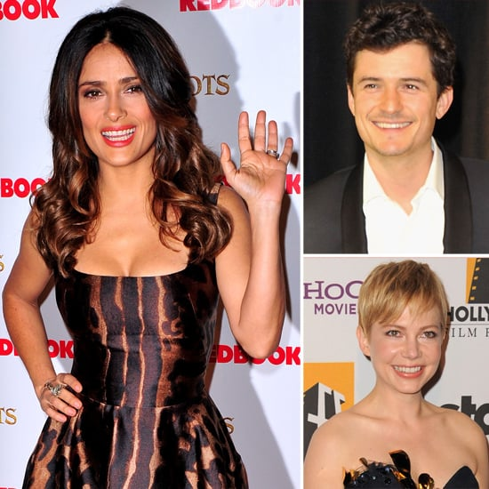 """Michelle's Movie For Matilda, Orlando """"Joneses"""" For Flynn, Salma's Malfunction: Celebrity Quotes of the Month!"""