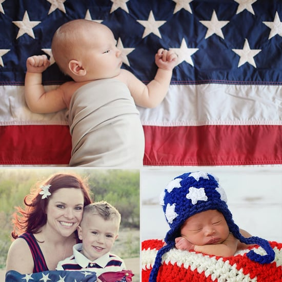 Red, White, and Blue All Over: Inspiration For a Patriotic Photo Shoot