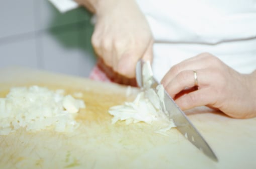 No More Crying While Chopping Onions