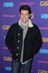 Max Greenfield bundled up on the red carpet.