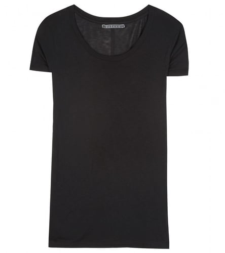 Velvet YANCY SCOOPED NECK T-SHIRT
