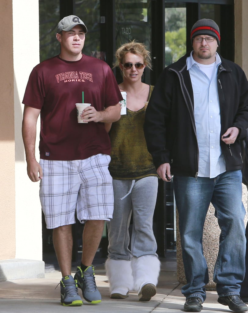 Britney Spears and David Lucado went on a coffee run together.