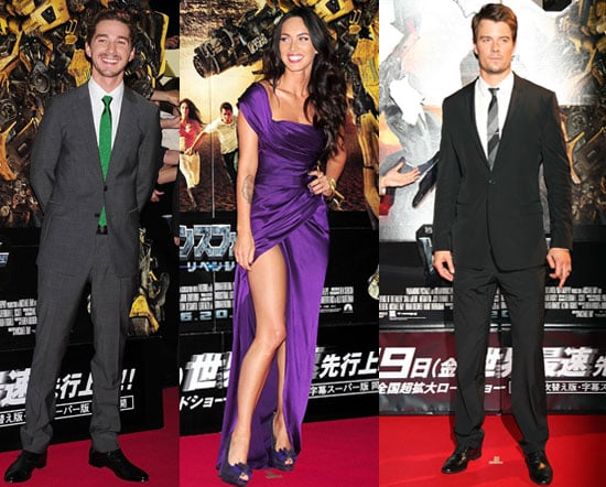 Photos of Shia LaBeouf, Megan Fox, Josh Duhamel, Tyrese Gibson at the Premiere of Transformers 2 in Japan