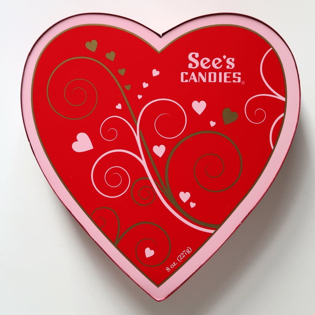 See's Candies 8-Ounce Assorted Chocolate Heart