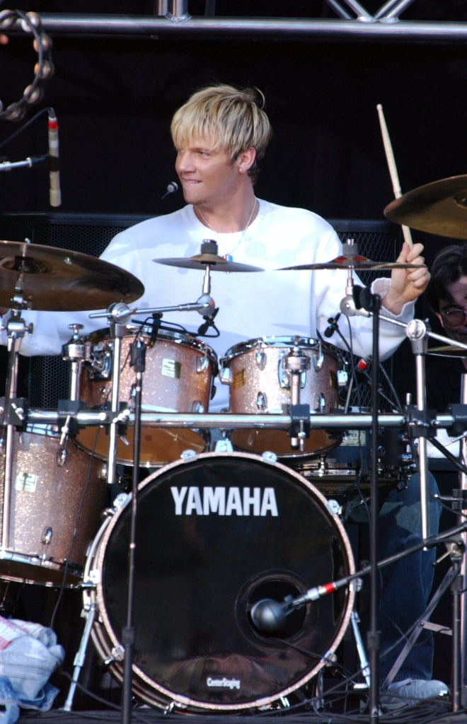 A quick Nick drum solo.