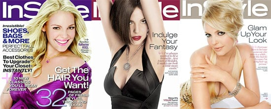 Katherine Heigl Does Three In Style Covers. Which Do You Like Most?