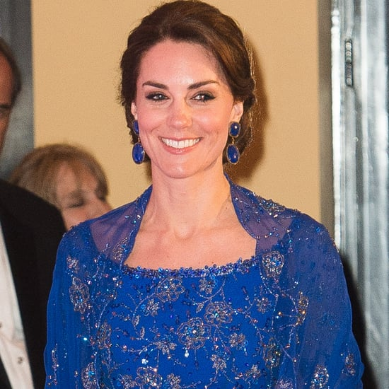 Kate Middleton in Jenny Packham Dress at Mumbai Gala