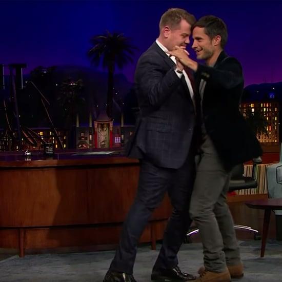 Gael Garcia Bernal Teaches James Corden to Dance Salsa