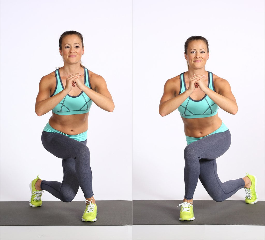 Exercise 2: Alternating Curtsy Lunge