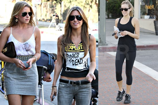 Photos of Kristin Cavallari, Audrina Partridge, and Lo Bosworth Filming the Hills in LA