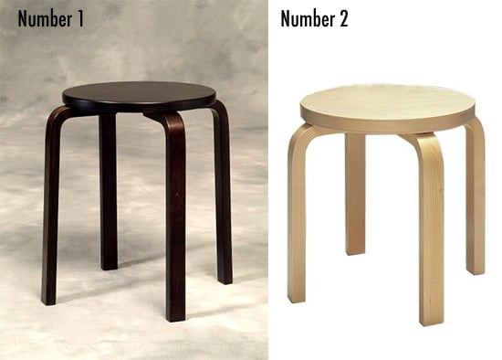 Less or More: Bentwood Stools