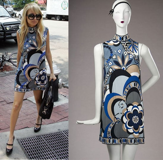 Found! Nicole's Psychedelic Maternity Dress