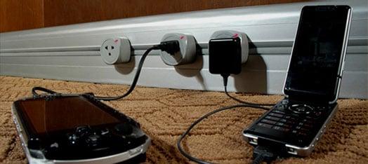 Eubiq's Unique Power Outlet Track