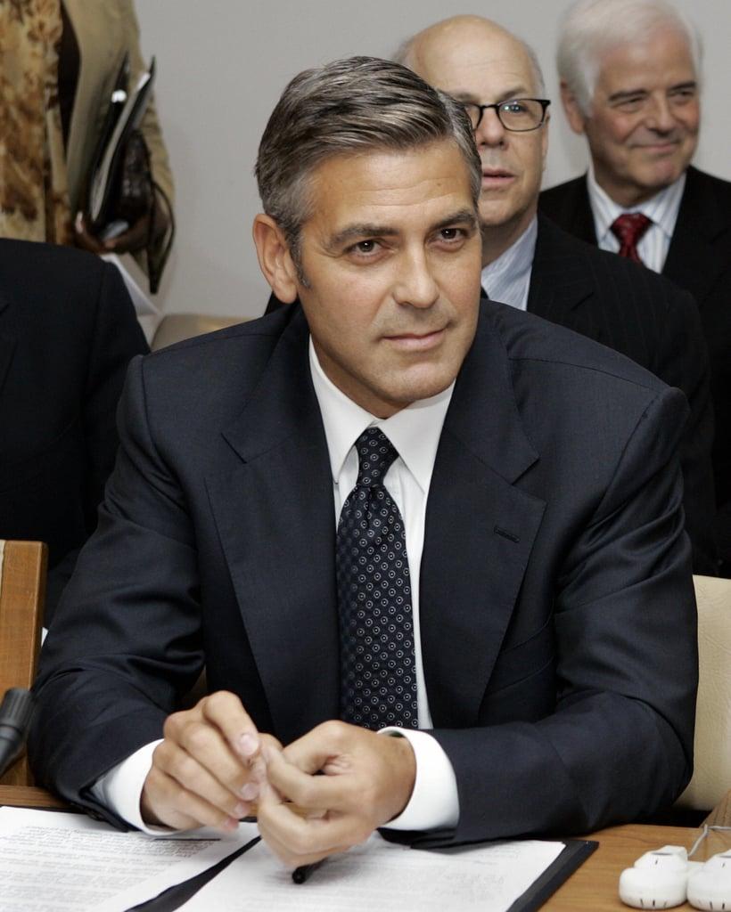 George Clooney vs. Charlton Heston