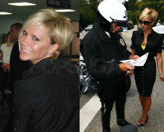 Posh Having Typical LA Life, LAPD Run-In