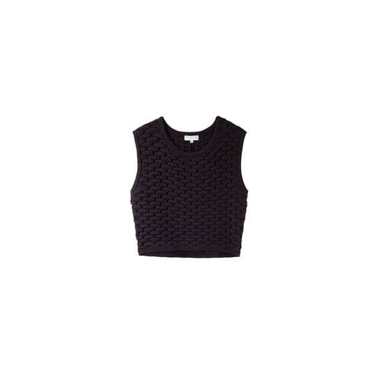 I L.O.V.E. the idea of a crop top, but they're very scary. I love this thick, weaved one; and figure I could wear it over a button up if I chicken out before leaving the house!—Alison, Health and Beauty Editor Top, approx $280, Opening Ceremony from La Garconne