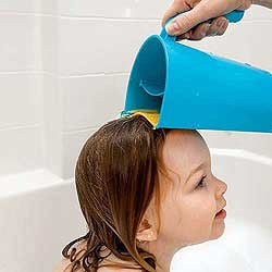 Lil Tip: Shampoo Rinse Cup