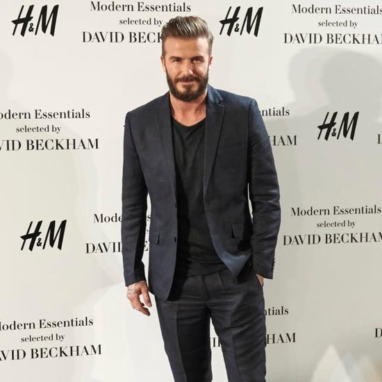 David Beckham Pretty Lady Harper Tattoo