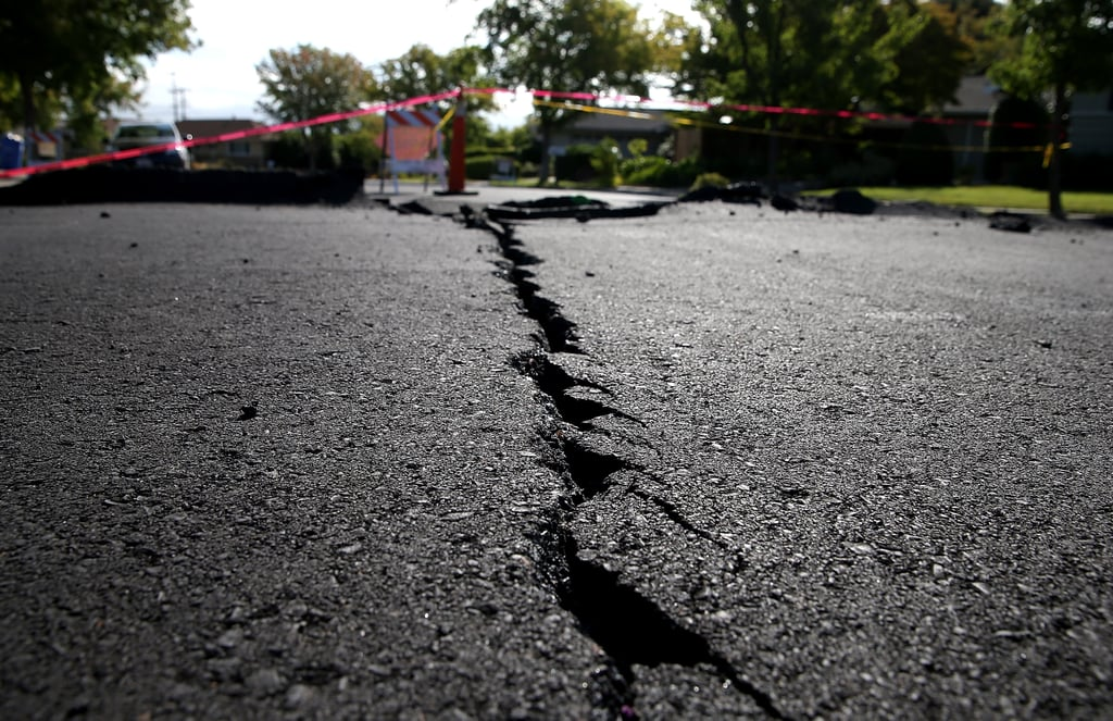 The town of Napa was rocked by Northern California's 6.0 earthquake on Aug. 24.