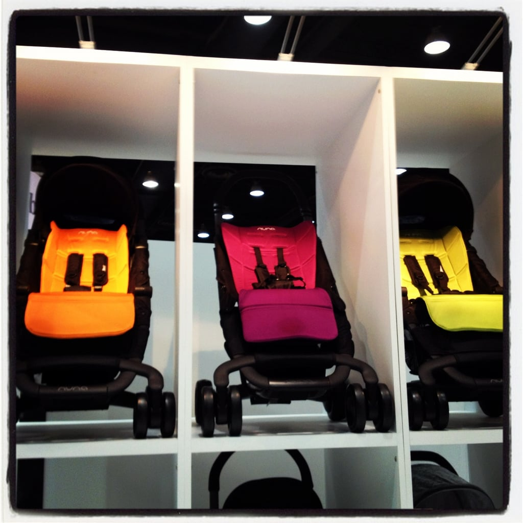 Nuna's PEPP buggy is a lightweight stroller that uses a zipper-based recline.