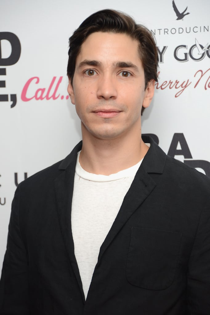 Justin Long posed solo at the premiere.