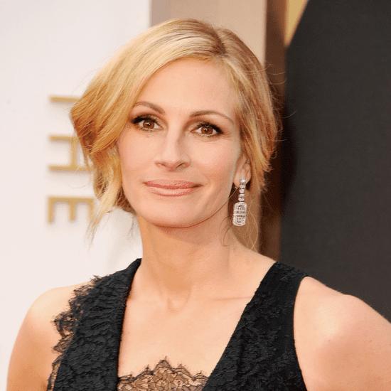 Julia Roberts Hair and Makeup at Oscars 2014