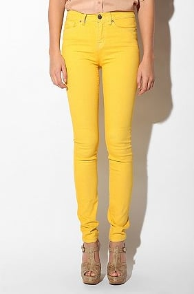 BDG Yellow Cigarette High-Rise Jeans ($58)