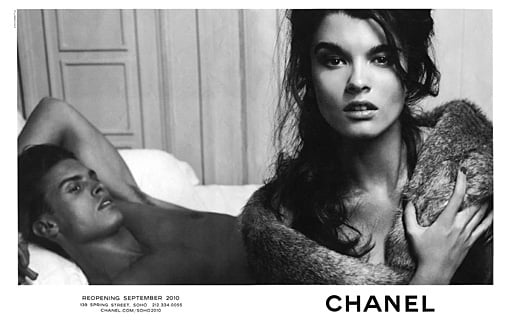 Photos of Crystal Renn for Chanel Shot by Karl Lagerfeld