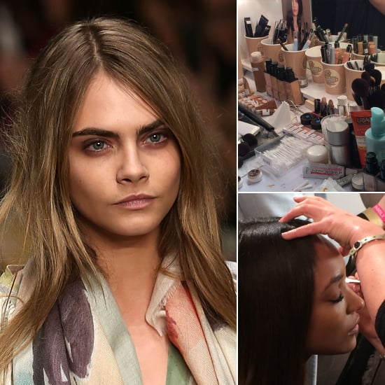 Burberry Prorsum Autumn 2014 Beauty | Backstage Pictures