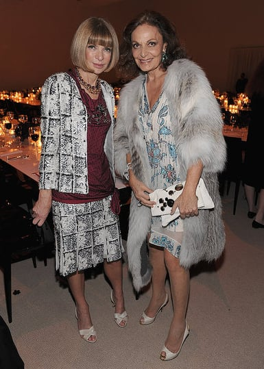 Anna co-hosted the CFDA/Vogue Fashion Fund Awards this year along with Diane von Furstenberg.