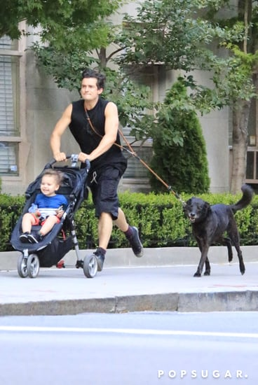 celebrityOrlando-Bloom-Runs-Flynn-NYC-Photos