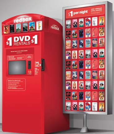 DVD Vending Machines: Good Idea or Pointless?