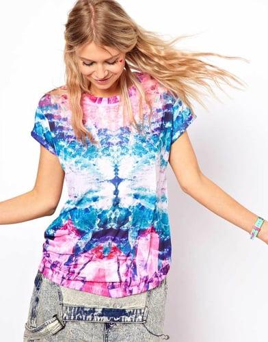 ASOS T-Shirt with Digital Crystal Print