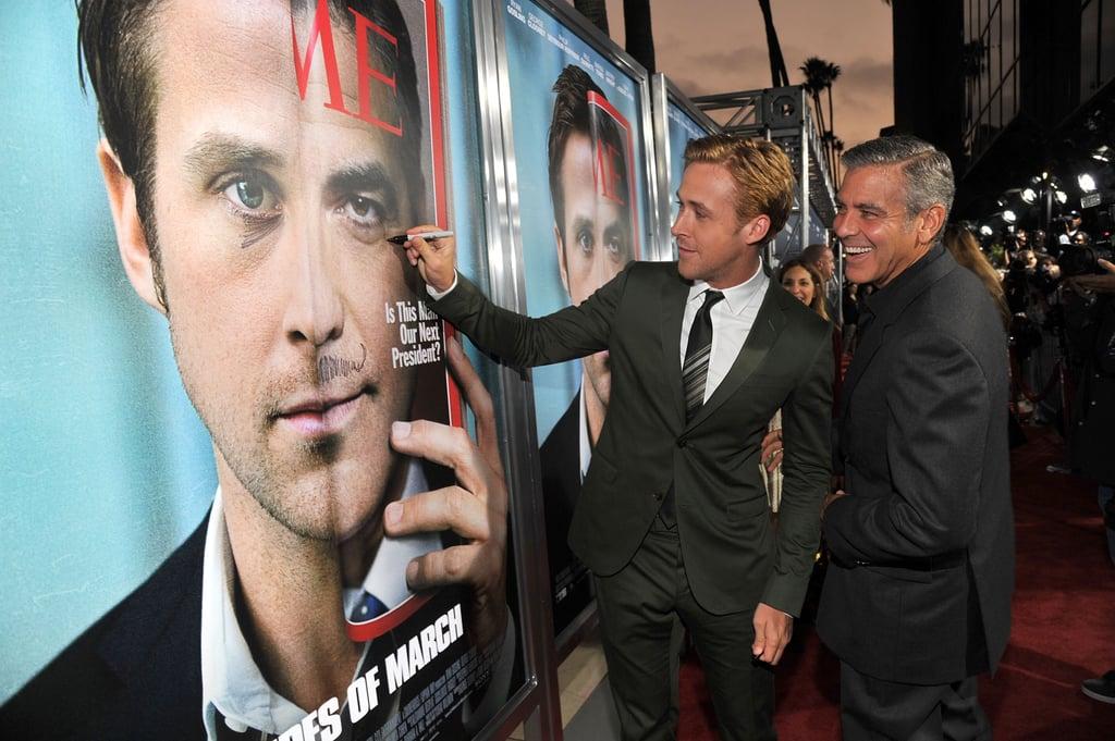 Ryan Gosling Returning the Favor