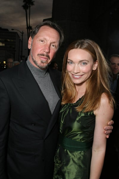 Larry Ellison and Melanie Ellison: Geek and Romance Novelist