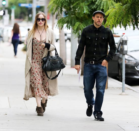 Charlie Hunnam and girlfriend Morgana shopping in LA as her layered clothing fuels pregnancy speculation