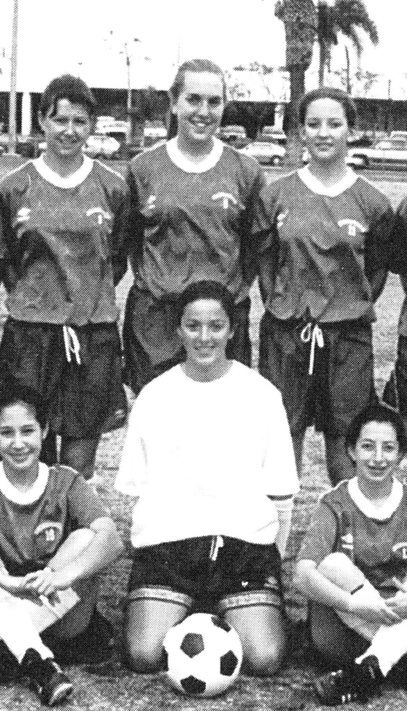 Kate Hudson was a soccer star first.