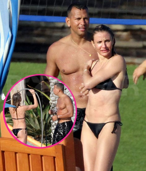 Cameron Diaz Bikini Pictures With Shirtless Alex Rodriguez in Mexico