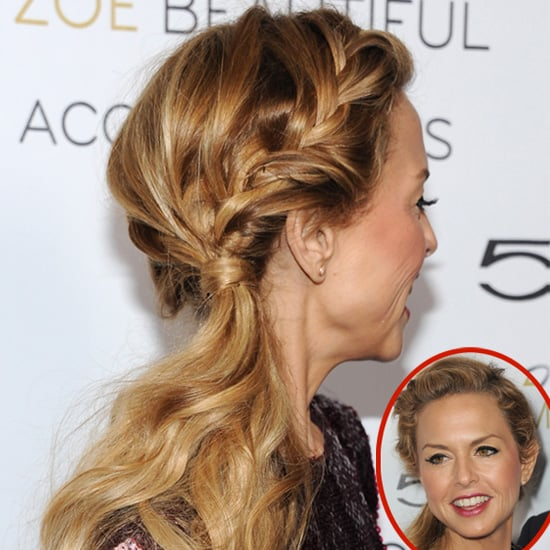 Rachel Zoe's Braids and Ponytail Hairstyle