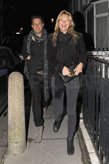 Pictures of Kate Moss and Jamie Hince Continuing to Celebrate Her Birthday