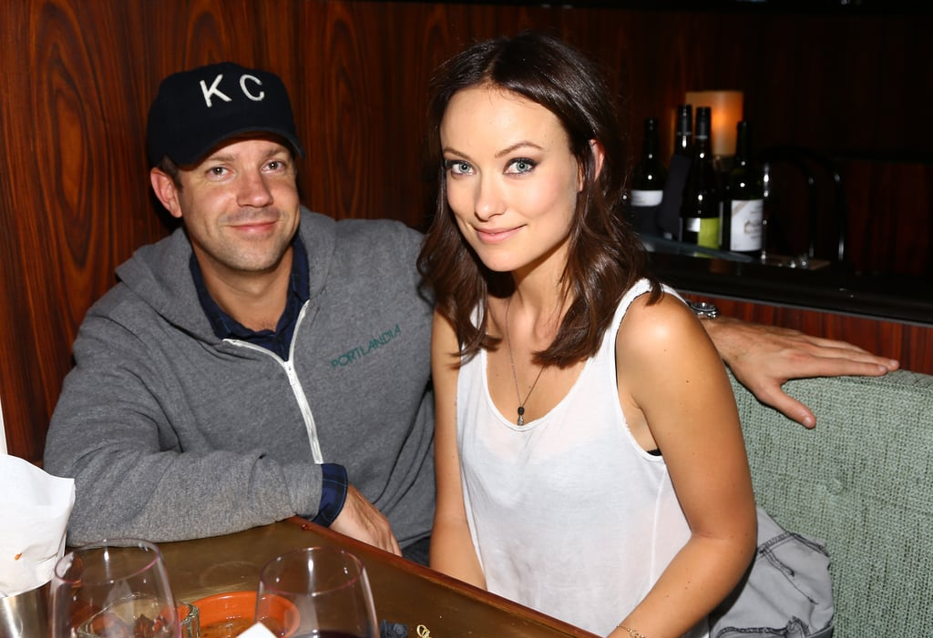 Jason Sudeikis and Olivia Wilde looked cute and cosy at a Glamour event in New York City on October 8.