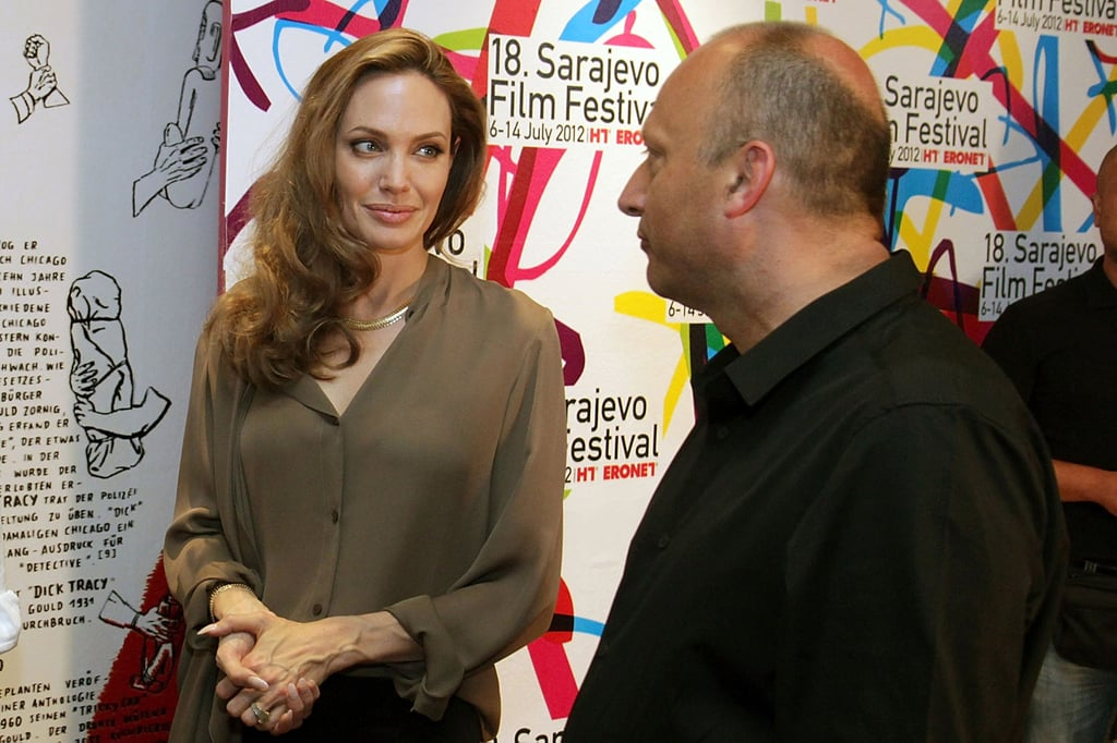 Angelina Jolie attended the 18th Sarajevo Film Festival in Bosnia on July 7.