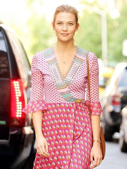 Karlie Kloss Just Wore the Most Figure-Flattering Summer Dress Around