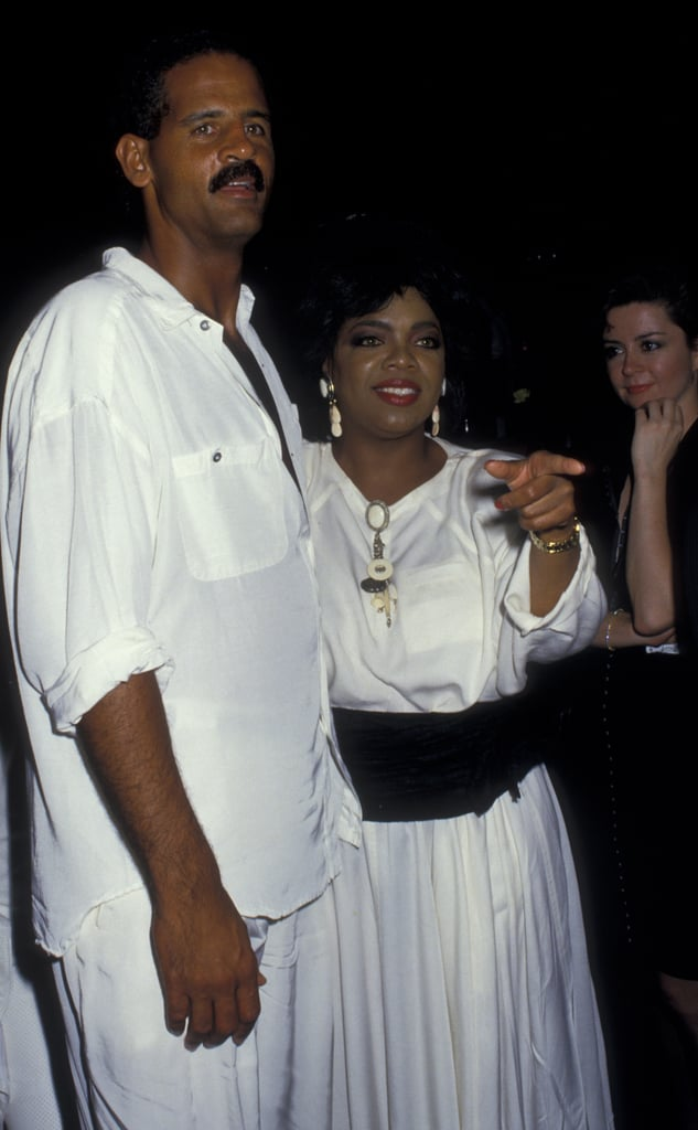 Oprah and Stedman Graham hung out together in NYC back in 1987.