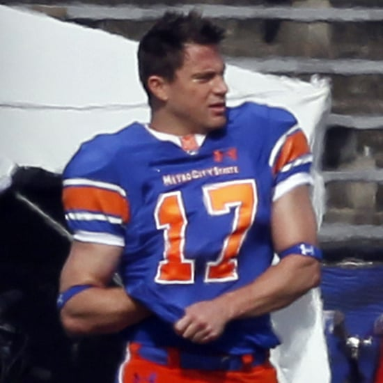Channing Tatum on the Set of 22 Jump Street Pictures