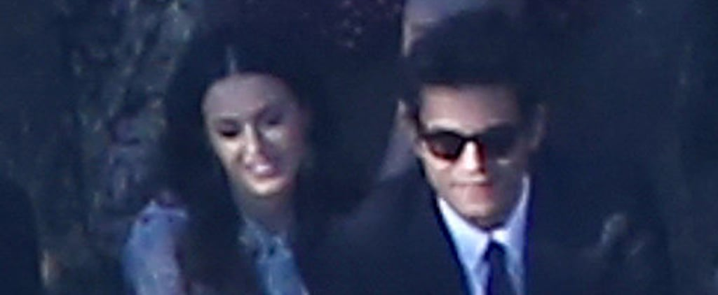 Katy Perry Cozies Up to John Mayer at Allison Williams's Wedding