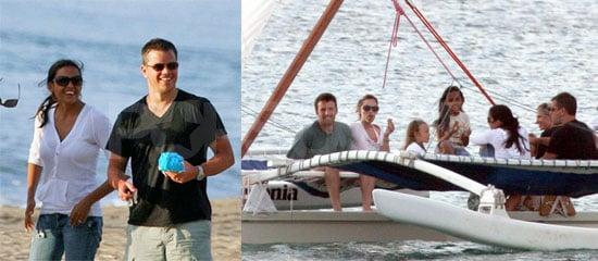 Ben Affleck, Jennifer Garner, Matt Damon and Violet Affleck Celebrate 4th of July in Bathing Suits and Bikinis