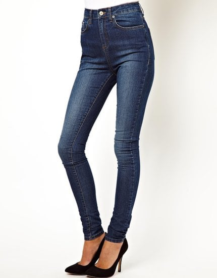 The high waist on these ASOS skinny jeans ($47) will look especially polished with your blazers and pumps.