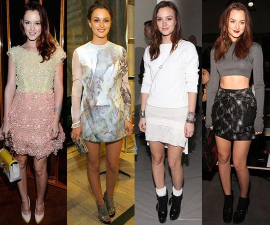Photos of Leighton Meester at Spring 2011 New York Fashion Week