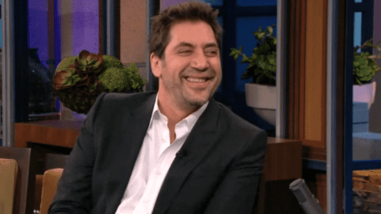 Video of Javier Bardem Talking About New Baby on The Tonight Show